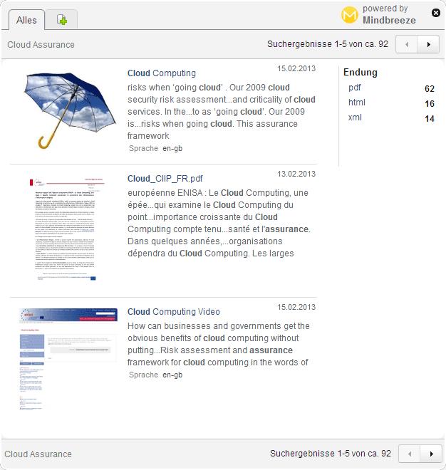 Suche Dateitypen