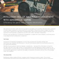 Case Study Mindbreeze InSpire in audio technology industry