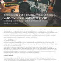 Case Study Mindbreeze InSpire in der Audiotechnik Branche