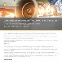 Case Study Mindbreeze InSpire in the aviation industry
