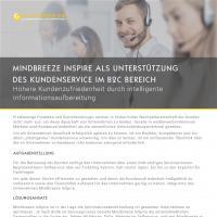 Case Study Mindbreeze InSpire im Kundenservice