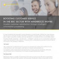 Case Study Mindbreeze InSpire in customer service