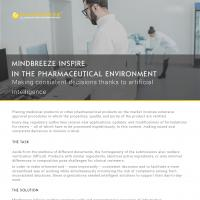 Case Study Mindbreeze InSpire in the pharmaceutical environment