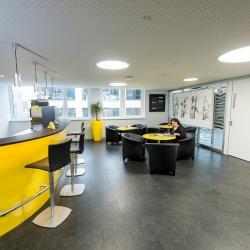 Lounge - Gemeinschaftsbereich im Mindbreeze Office