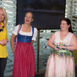 Martina Schettina, Jutta Mocuba, Iris Fallmann